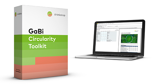 GaBi Circularity Toolkit - Circular Economy Software for MCI calculation