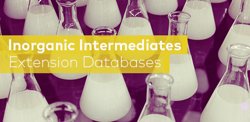 GaBi LCI database inorganic intermediates